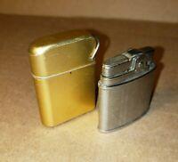Vintage Lot of 2 lighters Strom Master + Hilton lighter