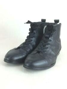 TAKESHI KOSAKA by Y's Pink Label  M Blk Leather Size US NA Sneaker 5612
