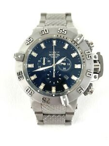 Invicta Subaqua Noma III Watch Swiss Blue Dial Chronograph Quartz Model 1149