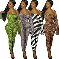 Overall Trousers Party Casual Floral Pants Sexy Cocktail Jumpsuits Ladies