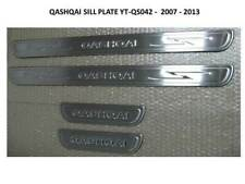 DOOR SILL SCUFF PROTECTOR PLATES STAINLESS STEEL QASHQAI J10 2007 - 2013 - QS042