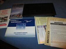 2002 SUBARU IMPREZA OUTBACK OWNERS MANUAL SET W/ CASE 02