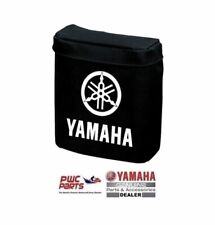 Borsa Yamaha, Colore Nero con Logo Bianco, Autoadesiva, per Barca e Moto d'Acqua