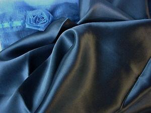 100% pure silk Beauty Sleep Standard pillowcase Dark Navy blue pillow case