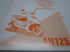OEM Suzuki AN125 Owner's Manual (EN, FR, GE, DU, Sp, IT) PN 99011-20E50-DGS
