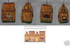 "Needlepoint ""3D House Irish"" #18 Mono Canvas! Sim17"