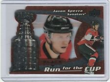 2008-09 Black Diamond #27 Run for the Cup Jason Spezza /100