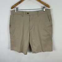 Gazman Mens Shorts 36 Beige Chino Pockets