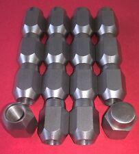 dadi delle ruote Set di 16 acciaio inox 1/2 unf 60° CONICO MGB P3035