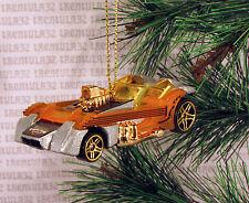 TWANG THANG GUITAR CAR SILVER ORANGE YELLOW GOLD CHRISTMAS ORNAMENT XMAS