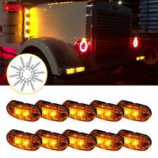 Reboque Led Âmbar Amarelo Caminhão Clearance lado marcador de luz para Barco Marine Rv