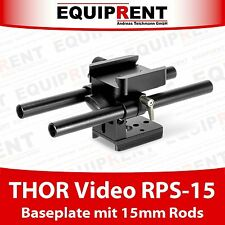 THOR video rps-15 basetta con 15mm Rod Support per Thor video filettate (eqt20)
