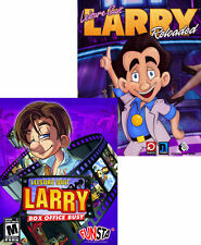 2 PACK - Leisure Suit Larry Reloaded + Box Office Bust - 2x Mature PC Games NEW