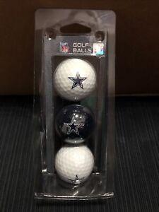 Dallas Cowboys NFL Football Team Golf Balls (Set of 3)