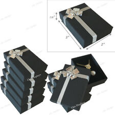 LOT OF 20 BLACK BOW-TIE BOXES JEWELRY BOXES DANGER EARRING BOXES PENDANT BOX