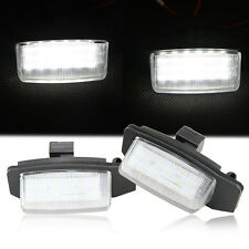 2pcs 18 SMD LED Number License Plate Light Mitsubishi Lancer Sportback Outlander