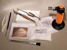 Premium Soldering Tool Kit For Gold & Silver Jewellery Repairs-Butane Torch