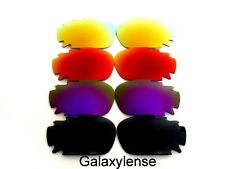 Galaxy Replacement Lenses For Oakley Jawbone Sunglasses Black&Purple&Red&Gold