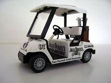 DIECAST GOLF CART BUGGY- Jack Daniel's Trolly,Clubs,Driver,Iron,Putter,Bag,Ball,