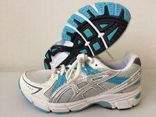 Asics Gel 1170 Running Shoes C131N White & Blue UK 3.5 Eur 36 US 4 CM 22.5 T184