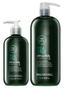 Paul Mitchell TeaTree Hair n Body Moisturizer 10.14oz OR 33.8oz (Choose One)