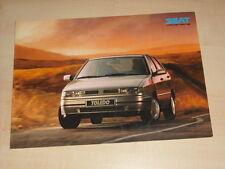 51055) Seat Toledo Marbella Ibiza Ungarn Prospekt 1992