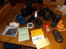 CONTAX 35mm Camera 139 Quartz Tiffen Polarizer Winder Extra Lenses Yashica ETC