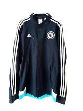 Chelsea Jacket. Small Adults. Adidas. Blue Long Sleeves Football S.