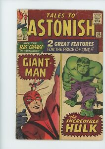 TALES to ASTONISH #60 from 1964....HULK story.....$45 VALUE.....ONLY $9.95!