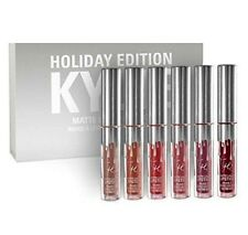 Kylie Jenner Holiday Edition Amazing Perfect Matte Liquid Lipstick Kit 6 Color