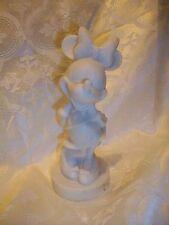 Atico Disney Minnie Mouse White Resin Figurine
