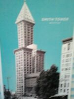 BEAUTIFUL PHOTO POST CARD AERIAL VIEW THE SMITH TOWER SEATTLE WASHINGTON