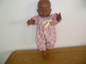 "15"" ethnic, anatomically correct new born baby girl doll"