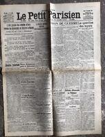 N54 La Une Du Journal Le Petit Parisien 10 Septembre 1914