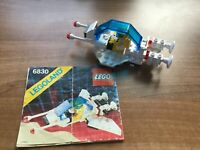Vintage Lego Futuron Space Patroller from 1988 (6830) 100% complete with Minifig