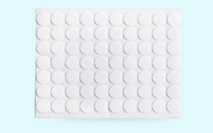 Strong Double Sided Clear Acrylic sticky pads Round Self Adhesive Pads DIY