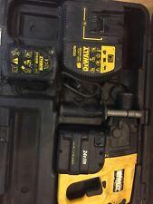 DeWalt 24v Cordless SDS Hammer Drill 2x Batteries DW005 3 Mode Chisel Function