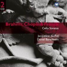 Daniel Barenboim And Jacqueline Du Pre - Brahms, Chopin & Franck: Cell (NEW 2CD)