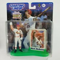 Starting Lineup Mark McGwire Home Run Record Commemorative MLB Cardinals + Card
