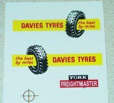 Matchbox Davies Tyres Semi Truck Sticker Set      MB-M2B1
