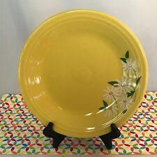 Fiestaware Daisy Dinner Plate Fiesta Sunflower Yellow Tamarack Plate NWT