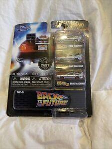 Jada Nano Hollywood Rides Back To The Future DeLorean Time Machine (acc216)