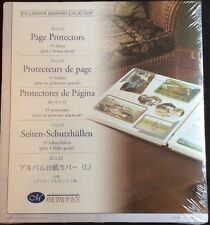 """Creative Memories Page Protectors 12"""" X 12"""" 16 Sheet 32 Page New Sealed CM-12"""