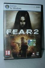 FEAR 2 PROJECT ORIGIN GIOCO USATO BUONO STATO PC DVD VERSIONE ITALIANA FR1 44494
