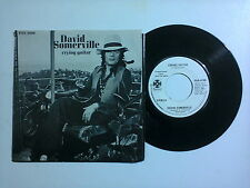 "David Somerville ‎/ Crying Guitar– Disco Vinile 45 giri 7""  EDIZIONE PROMO USA"