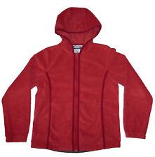 Columbia Firebrick Full-Zip Fleece Hoodie, Women's S