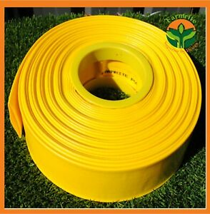 "Premium Lay flat Hose 2""/ 50mm x 50M High 8 BAR 116 PSI Water Transfer Hose NEW"