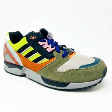 Adidas Originals ZX 8000 Semi Solar Slime Green Black Red Boost B24862 Mens