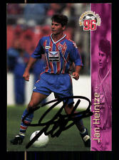 Jan Heintze Bayer Uerdingen Panini Card 1996 Original Signiert +A98786