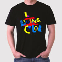 In Living Color 90s Tv Series Logo Men's Black T-Shirt Size S to 3XL